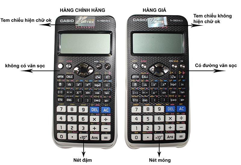Cách kiểm tra máy tính Casio fx 580VNX - Ảnh 2