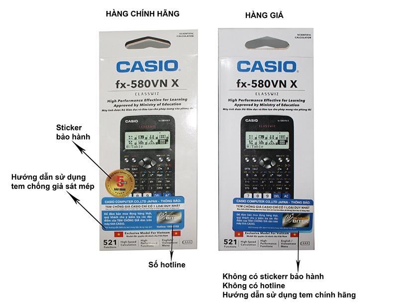 Cách kiểm tra máy tính Casio fx 580VNX - Ảnh 3