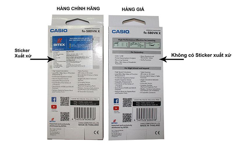 Cách kiểm tra máy tính Casio fx 580VNX - Ảnh 4
