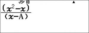 Cách tìm x trên máy tính casio - Ảnh 4