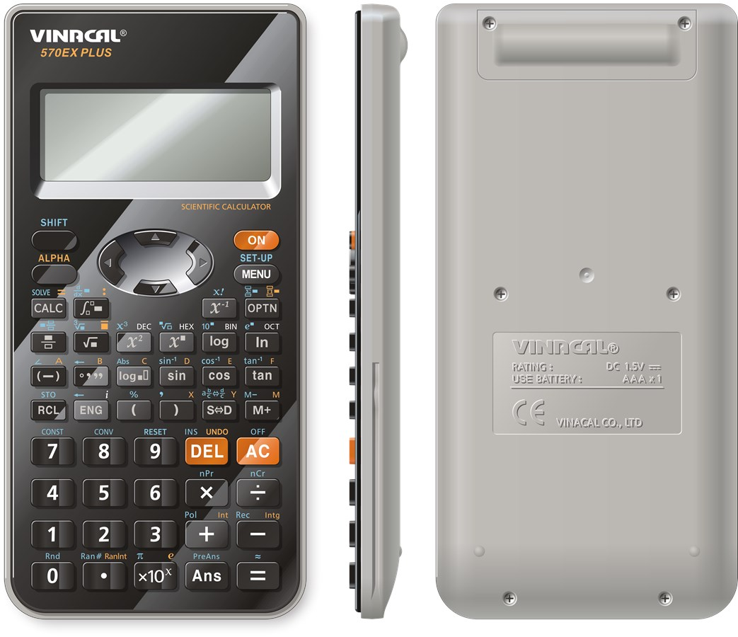 Máy tính Vinacal 570EX Plus - Ảnh 0