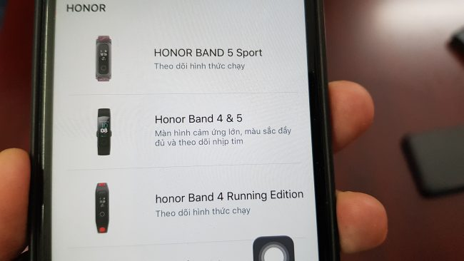 Cách kết nối Honor Band 5 với iPhone - Ảnh 4