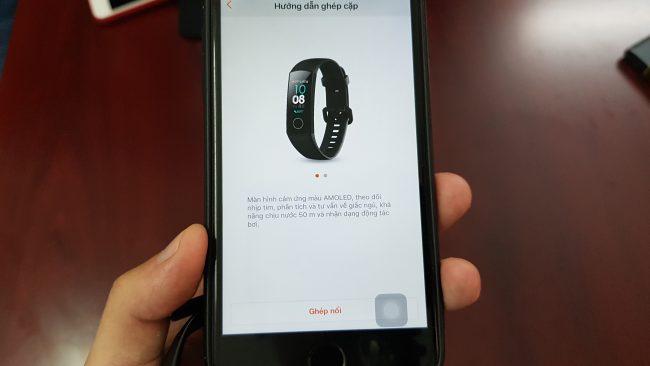 Cách kết nối Honor Band 5 với iPhone - Ảnh 5