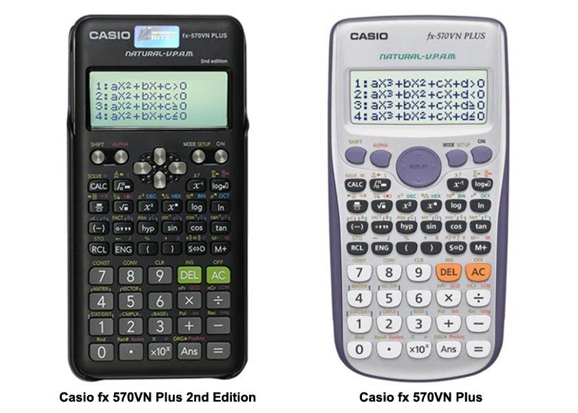 Casio fx 570VN Plus 2nd Edition: diện mạo mới, trải nghiệm mới - Ảnh 1