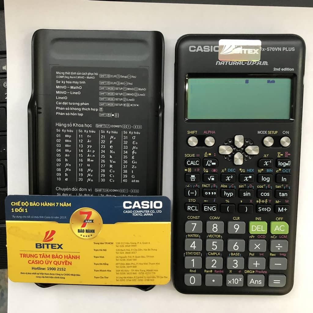 Máy tính Casio fx-570VN Plus NEW (2nd Edition) mua ở đâu tốt?