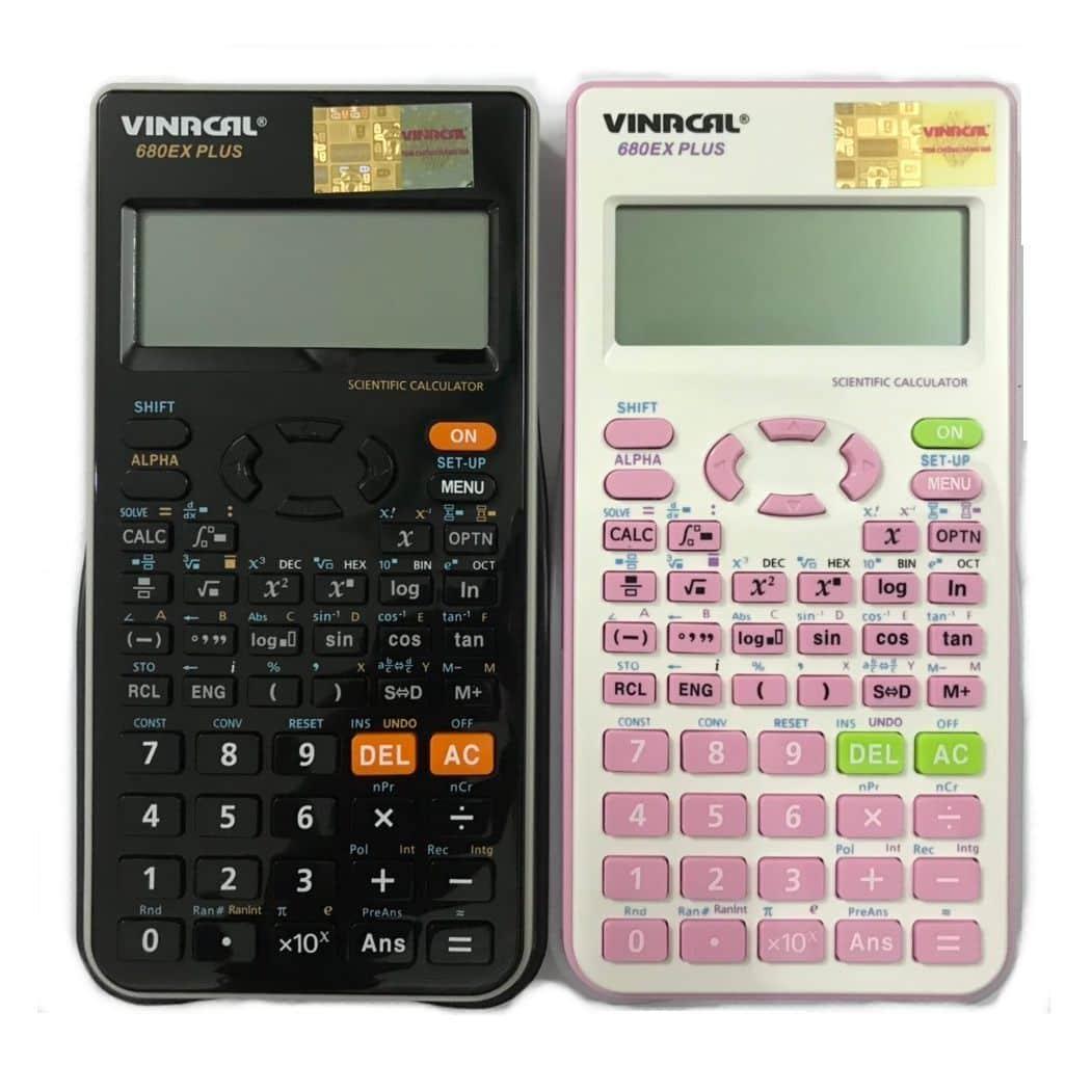 Vinacal 680EX Plus có được mang vào phòng thi không?