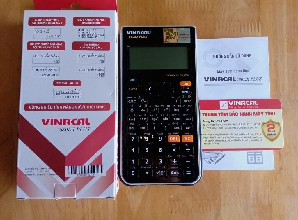 Vinacal 680EX Plus chính hãng giá bao nhiêu?