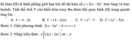 Dạng 4 - Ví dụ 2
