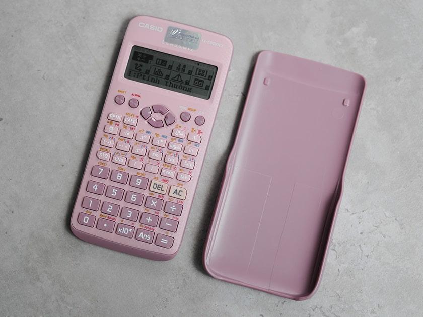 Đánh giá máy tính Casio 580 màu hồng