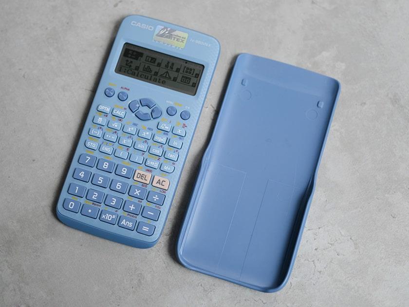 Đánh giá máy tính Casio 580 màu xanh