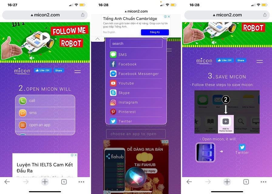 Cách tạo icon cho iPhone, Android với Micon. io - Ảnh 2