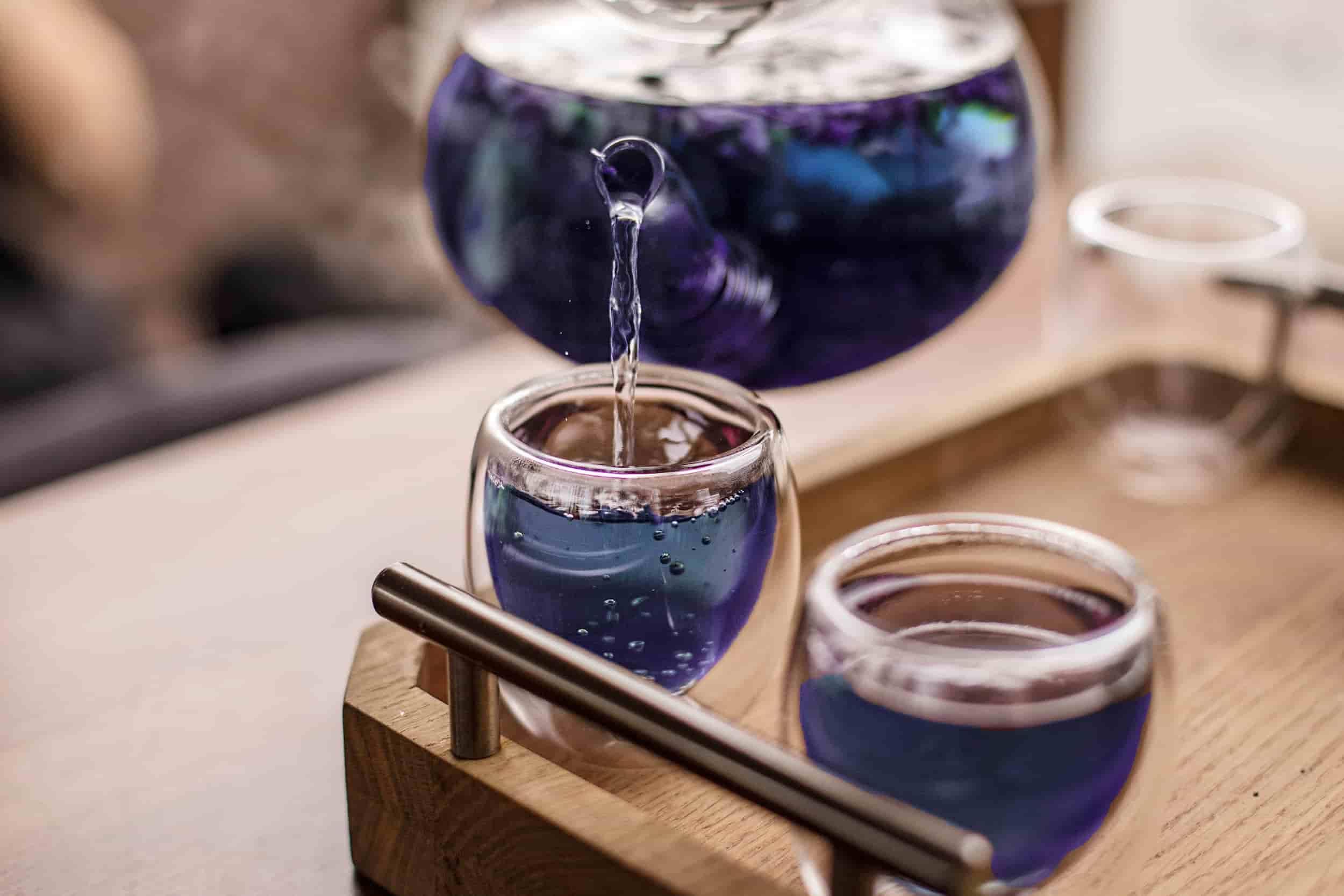 Lưu ý khi dùng cách giảm cân bằng trà hoa đậu biếc