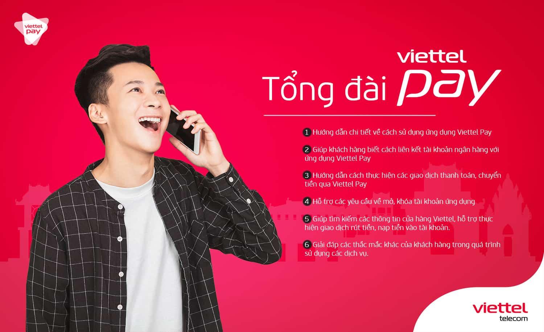 Hotline ViettelPay giải đáp những thắc mắc gì?